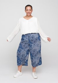 Zizzi - Trousers - blue - 0