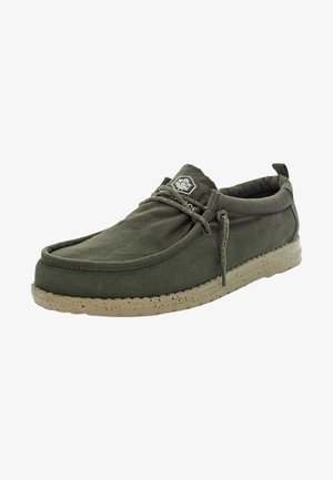 Boat shoes - military green