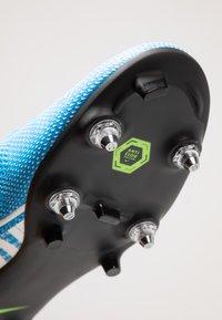 Nike Performance - VAPOR 13 ACADEMY SG-PRO AC - Screw-in stud football boots - blue hero/white/obsidian - 6