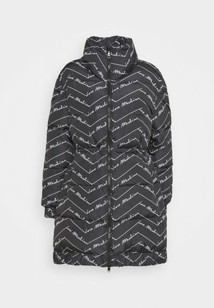 Down coat - nero/log bianco