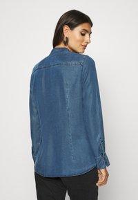 Marc O'Polo - BLOUSE LONG SLEEVE - Button-down blouse - denim blue - 2