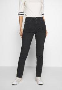 Esprit - MODERN - Jeans Tapered Fit - black - 0