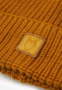 Knowledge Cotton Apparel - LEAF HAT UNISEX - Beanie - buckhorn brown - 2