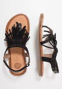 Gioseppo - SAVONA - T-bar sandals - black - 0