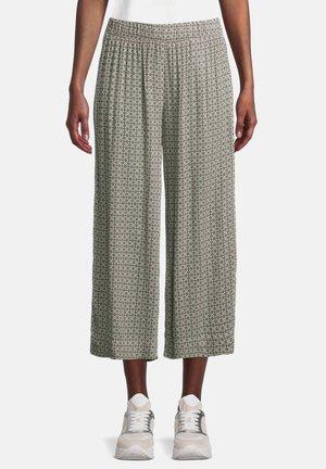 Trousers - cream/khaki