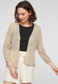 QS by s.Oliver - Cardigan - beige - 0