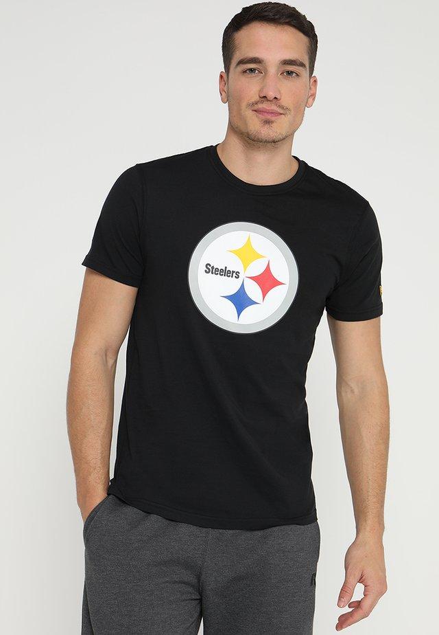 NFL PITTSBURGH STEELERS  - Klubové oblečení - black