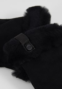 UGG - SHORTY GLOVE TRIM - Gloves - black - 3