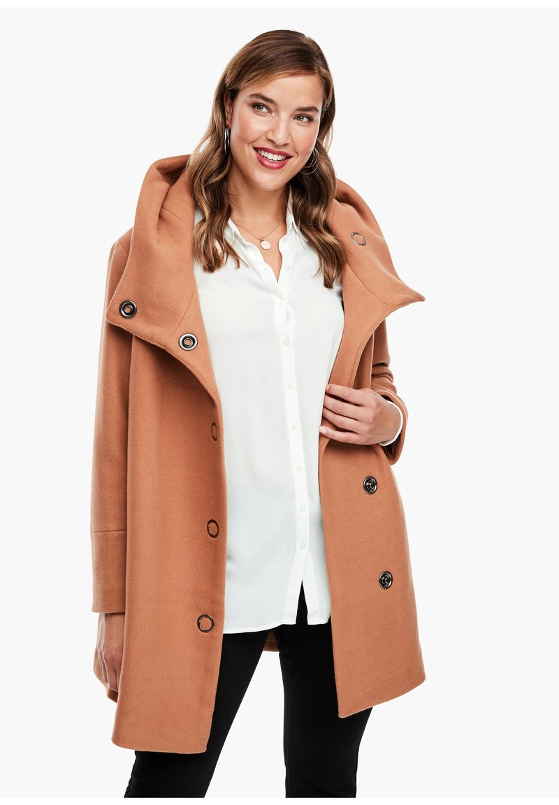 Triangle - Short coat - brown