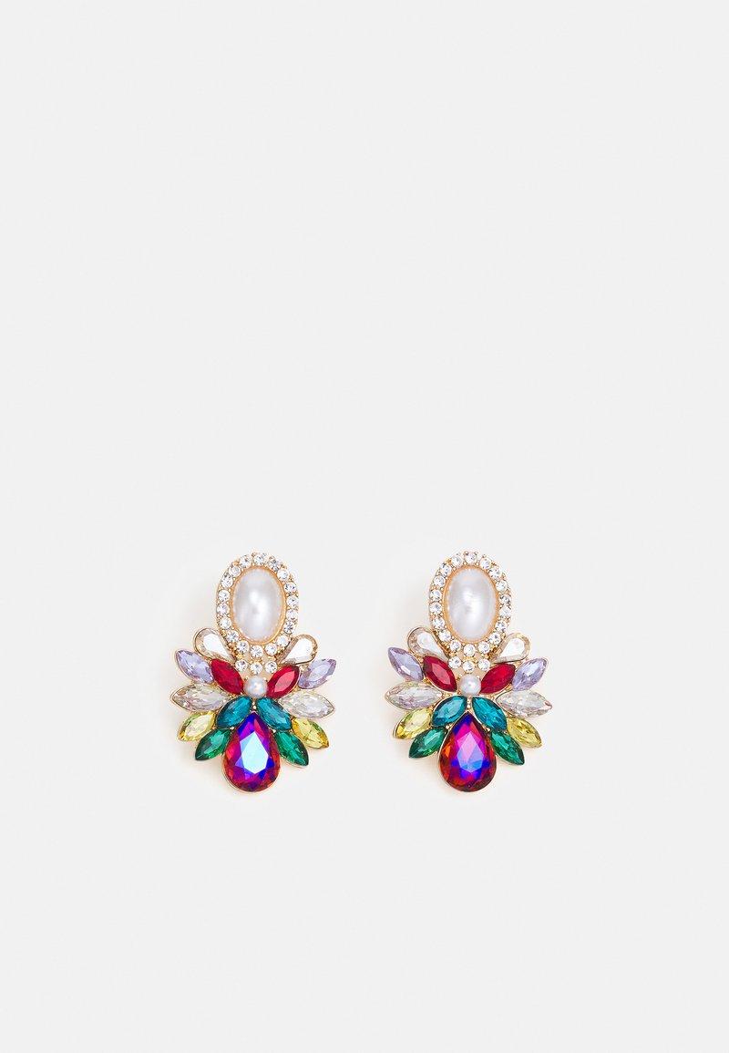 Fire & Glory - FGAMALIE EARRINGS - Earrings - gold-coloured/multi