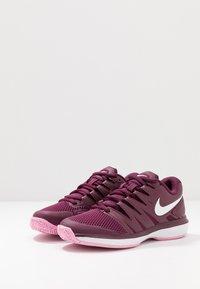 Nike Performance - AIR ZOOM PRESTIGE - Multicourt tennis shoes - bordeaux/white/pink rise - 2