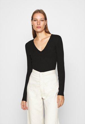 RICK - Pullover - black