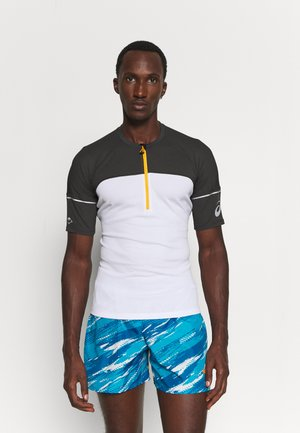 FUJITRAIL - Potiskana majica - graphite grey/brilliant white