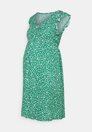 DITSY FRILL SLEEVE DRESS - Denní šaty - green
