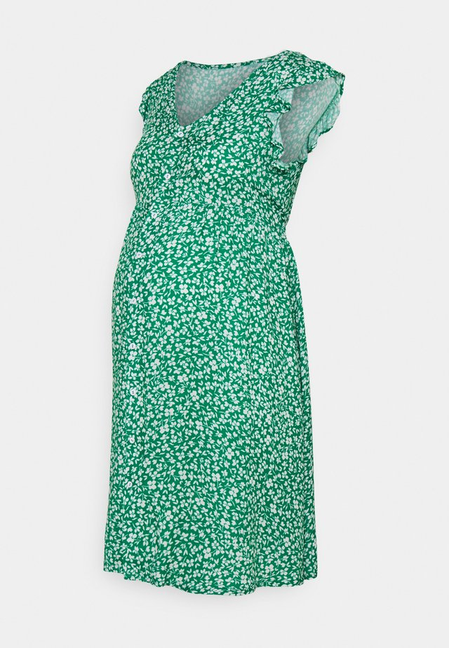 DITSY FRILL SLEEVE DRESS  - Vardagsklänning - green