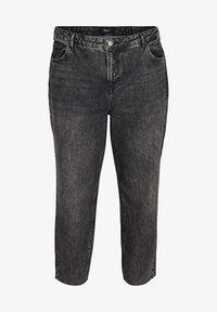 Zizzi - FIT MILLE  - Jeans Tapered Fit - grey - 2