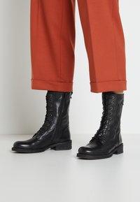 Felmini - COOPER - Lace-up boots - black - 0