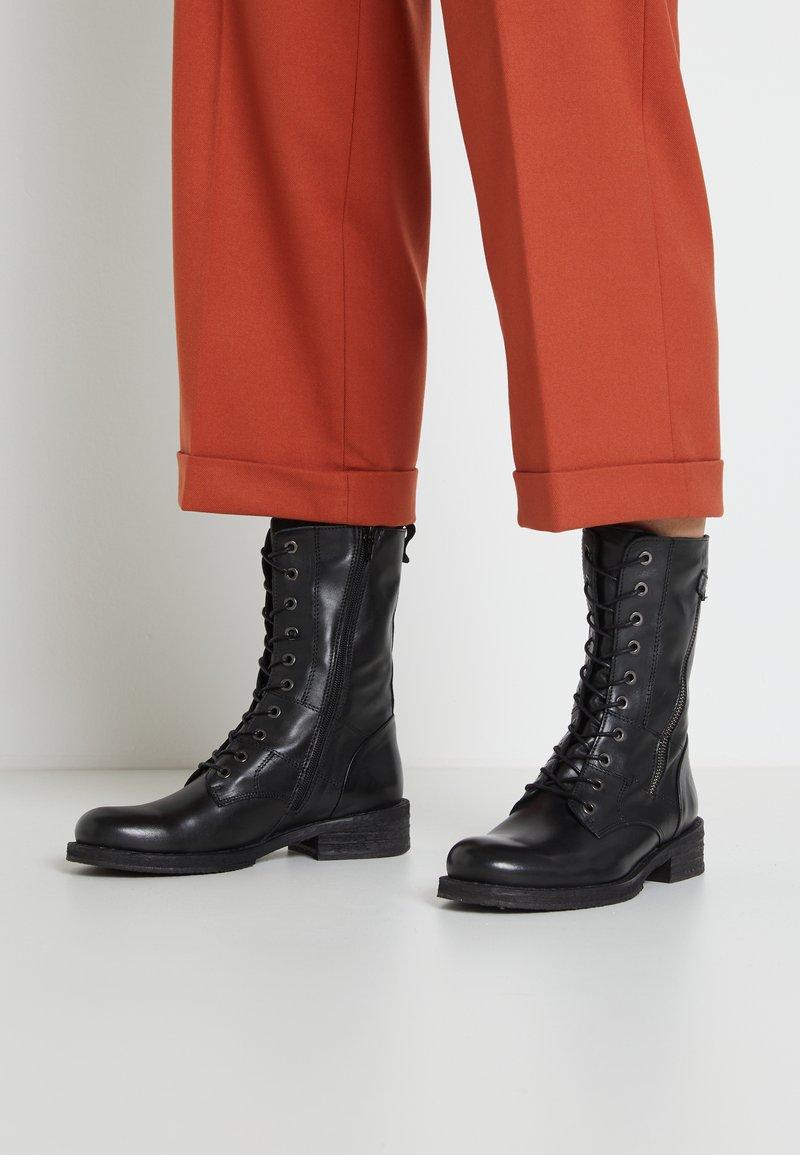 Felmini - COOPER - Lace-up boots - black