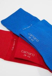 camano - SOFT 4 PACK - Socks - true red - 2