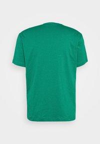 Champion - CREWNECK - T-shirt med print - green/white/navy - 5