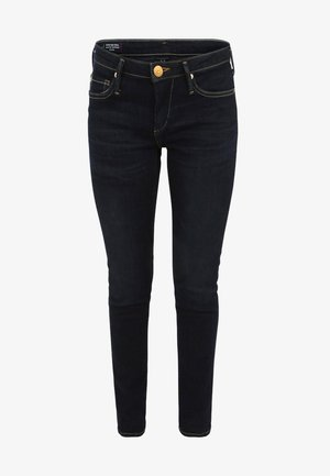 NEW HALLE CROPPED - Vaqueros pitillo - dark blue