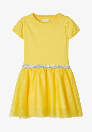 Day dress - aspen gold