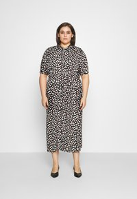 Anna Field Curvy - Day dress - black/pink/white - 0