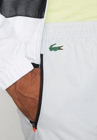 Lacoste Sport - TRACKSUIT HOODED - Tepláková souprava - white/black - 7