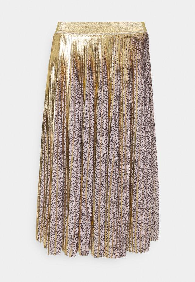 BABYLONE SKIRT - A-snit nederdel/ A-formede nederdele - gold