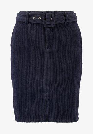 VIZEE  SKIRT - Falda de tubo - navy blazer