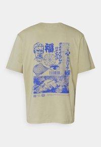 Edwin - TERRIBLE SIGHT UNISEX - Print T-shirt - sponge - 1