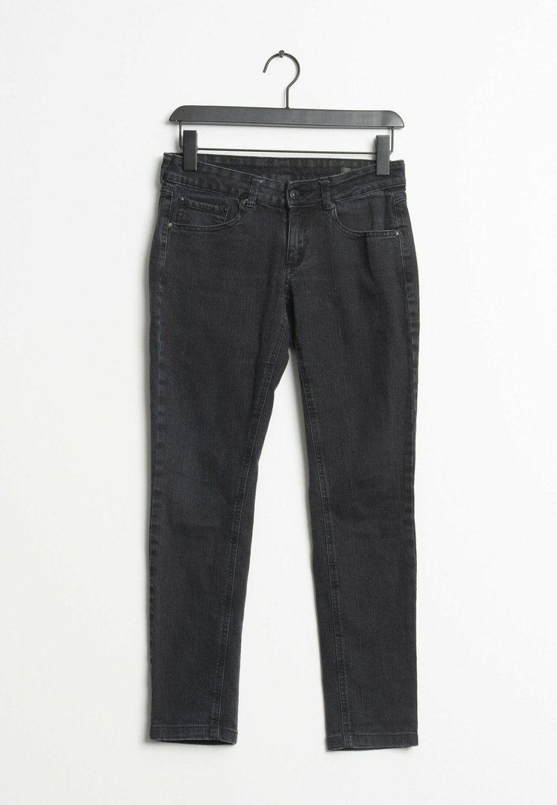 Mango - Relaxed fit jeans - black