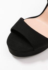 Even&Odd - Sandály na vysokém podpatku - black - 2