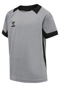 Hummel - Print T-shirt - grey melange - 2