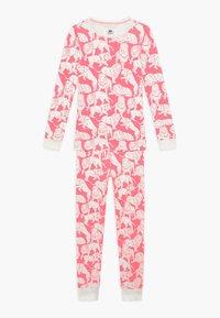 J.CREW - SLEEP TIGER - Pyjama set - neon pink ivory - 0