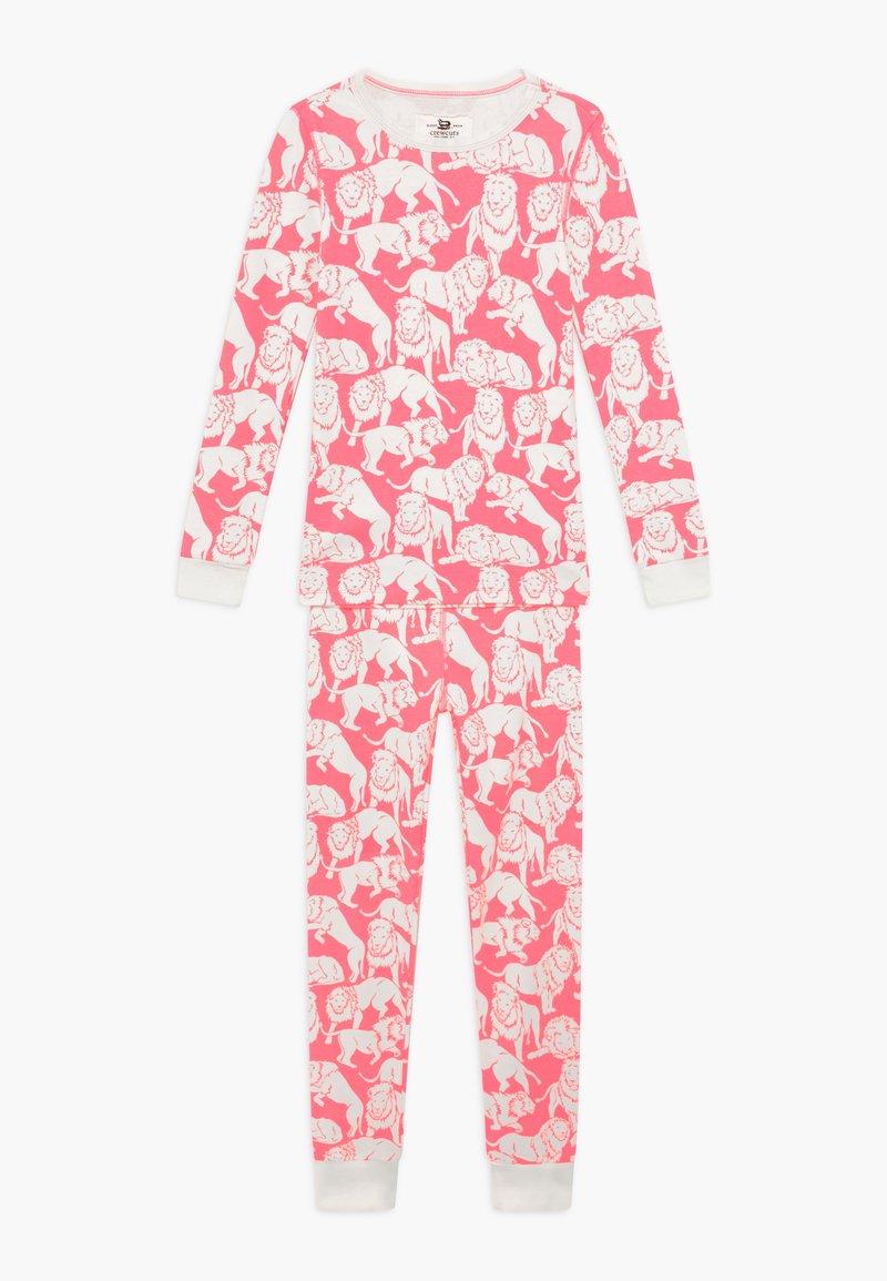 J.CREW - SLEEP TIGER - Pyjama set - neon pink ivory