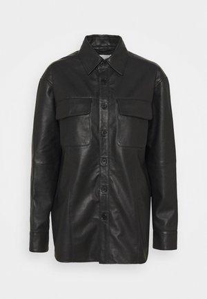 SHORELINE - Short coat - black