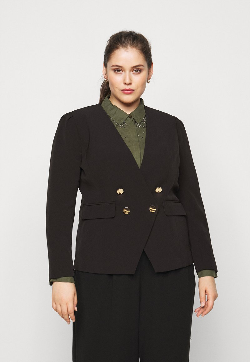 CAPSULE by Simply Be - OLIVIA NEW STYLE TROPHY - Blazer - black