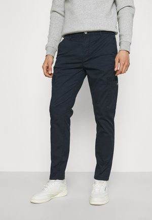 PANTS - Cargobyxor - navy
