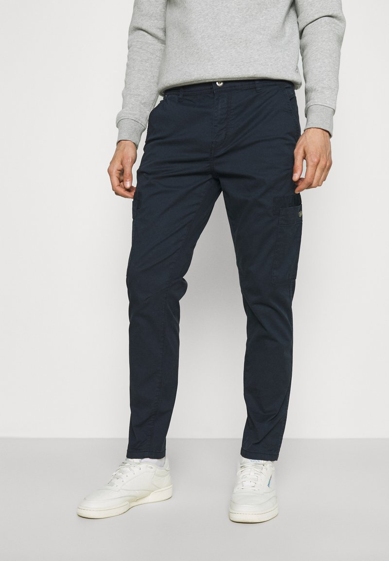 Lindbergh - PANTS - Cargo trousers - navy