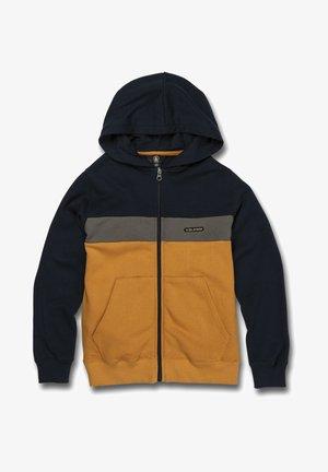 Zip-up hoodie - inca_gold