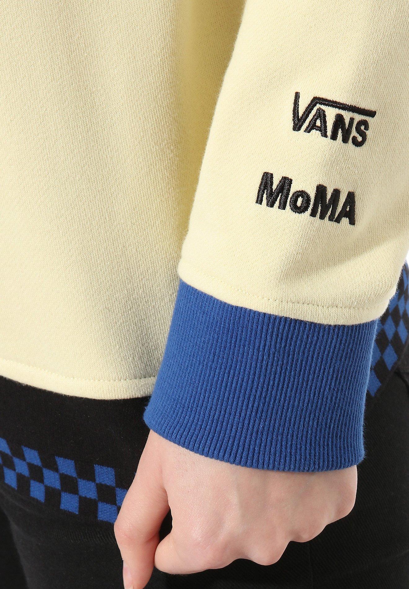 Vans MoMA Popova Trui   Geel   Vans