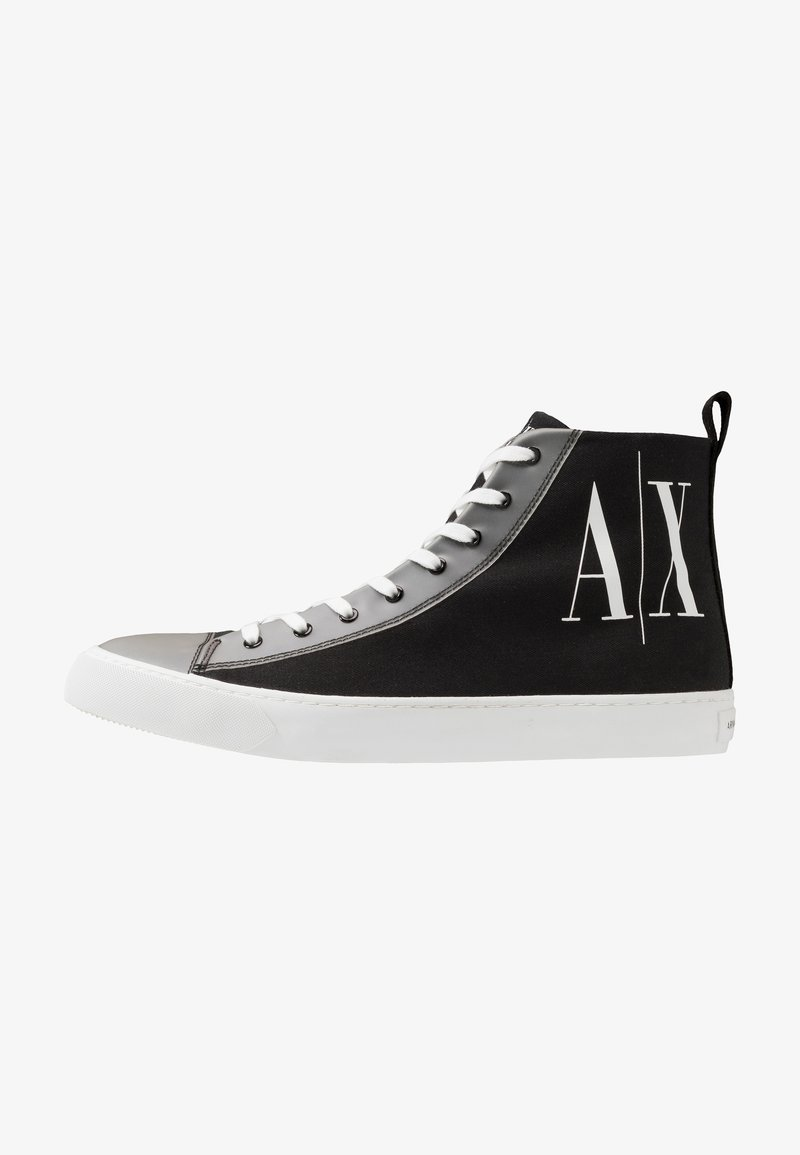 Armani Exchange - Sneakersy wysokie - black icon