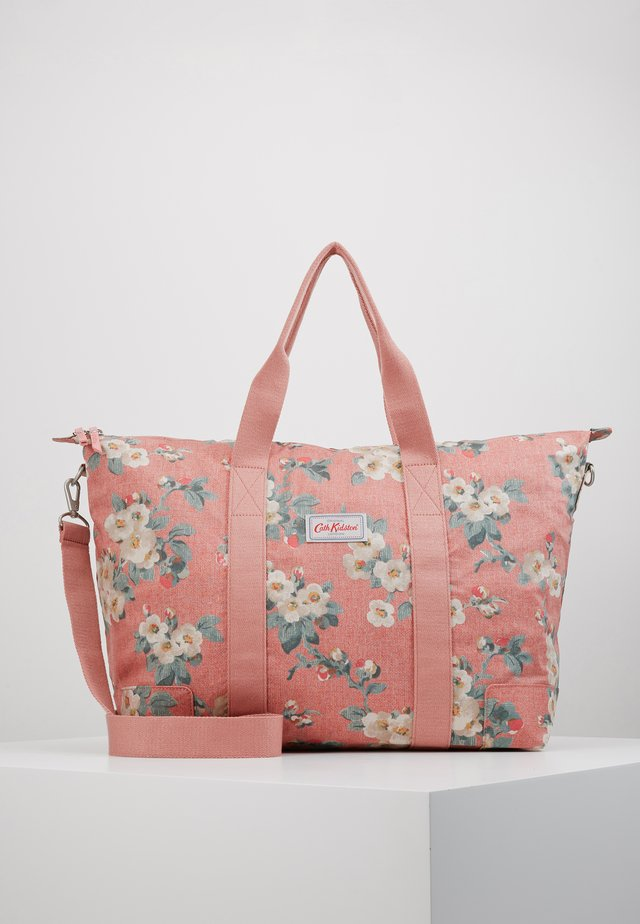 FOLDAWAY OVERNIGHT BAG - Tote bag - dusty pink