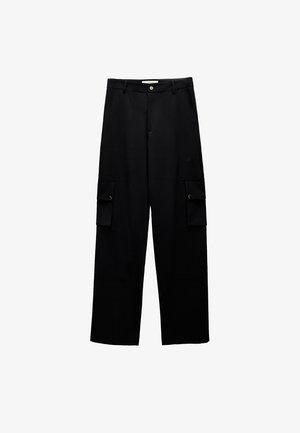 Cargo trousers - dark blue
