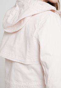 Marc O'Polo - GARMENT DYED HOODED - Parka - rosewater - 3