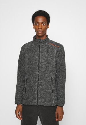 BRYANT - Fleece jacket - charcoal mix