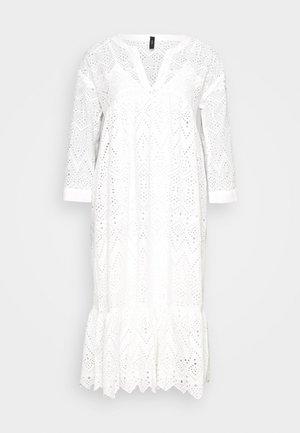 YASMILIVANNA 3/4 DRESS TALL - Sukienka letnia - white