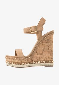 Steve Madden - MAURISA - High heeled sandals - tan - 1