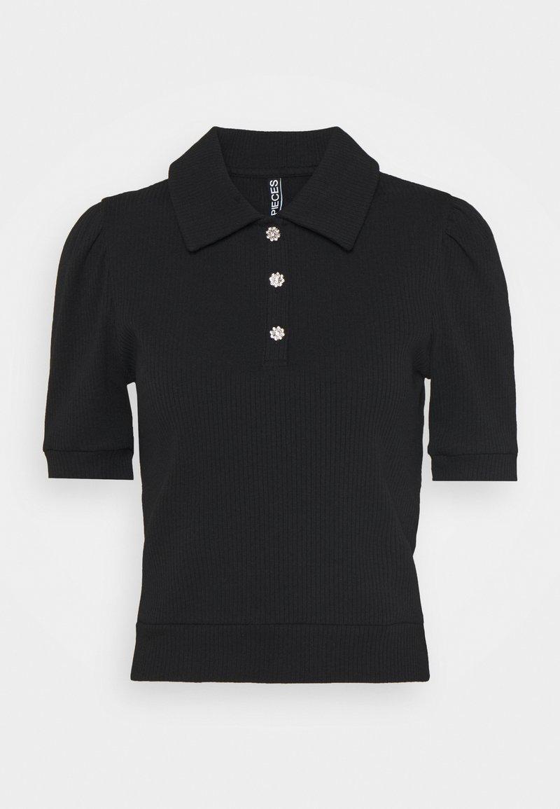 Pieces Petite - PCSUMI - Camiseta estampada - black